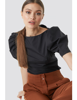 Fitted Puff Sleeve Top by Na Kd Trend