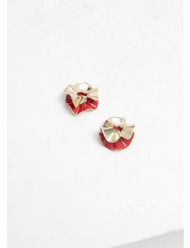 Flourish Small Curl Earrings by Ellery