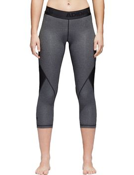 Adidas Women's Alphaskin 3/4 Tights by Adidas