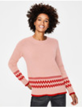 Theodora Fair Isle Jumper by Boden