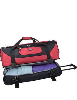 "30"" Adventure Double Compartment Rolling Duffel by Travelers Club Luggage"