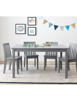 Carolina Large Table & 4 Chairs Set by Pottery Barn Kids