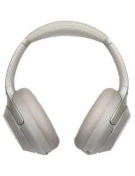 Sony Wireless Noise Canceling Headphones   Silver by Sony