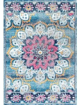 Bosphorus Withered Bloom In Bouquet by Rugs Usa