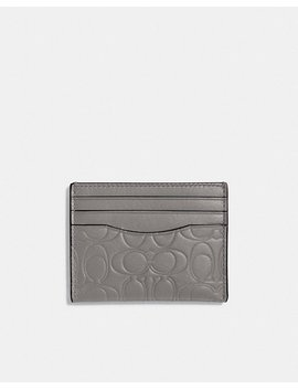 Card Case In Signature Leather by Coach