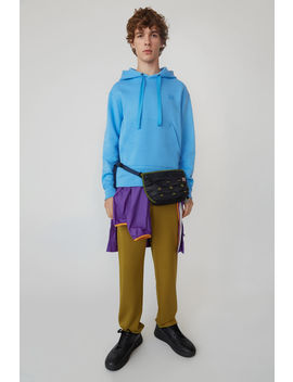 Hooded Sweatshirt Aqua Blue by Acne Studios