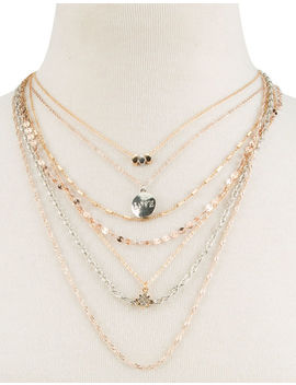 Full Tilt Love Layer Necklace by Full Tilt