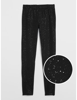 Sparkle Leggings In Stretch Jersey by Gap
