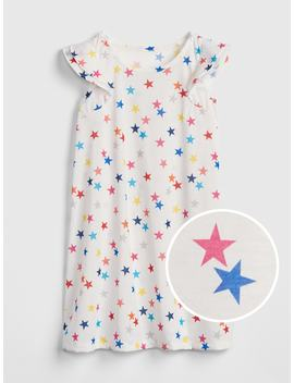 Star Ruffle Pj Dress by Gap
