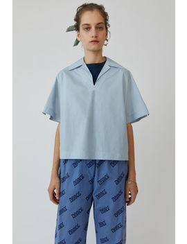 Boxy Shirt  Sky Blue by Acne Studios
