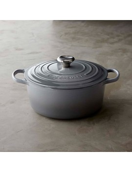Le Creuset Signature Cast Iron Round Oven, 5 1/2 Qt., Teal by Williams   Sonoma