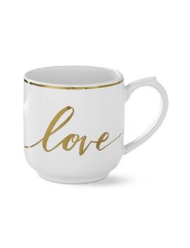 Gold Heart Mug, Love by Williams   Sonoma
