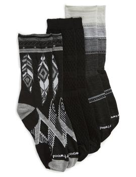 3 Pack Crew Socks by Smartwool