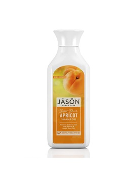 Jason Super Shine Apricot Pure Natural Shampoo 473ml by Jason