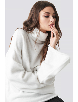 Oversized Polo Knitted Sweater by Julia Wieniawa X Na Kd