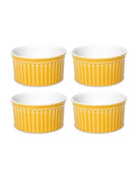 Oxford Porcelain Ramekin  Set Of 4 (Yellow) by Oxford