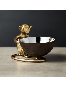 Gary The Monkey Bowl by Crate&Barrel