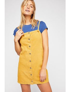 Rising Sun Pinafore Dress by Free People