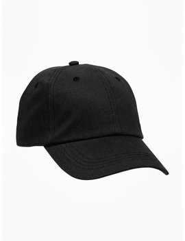 Twill Baseball Cap For Men by Old Navy