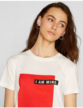 Μπλούζα I Am Mine by Stradivarius