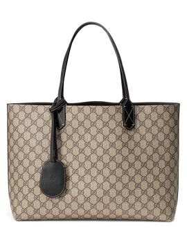 Medium Turnaround Reversible Leather Tote by Gucci