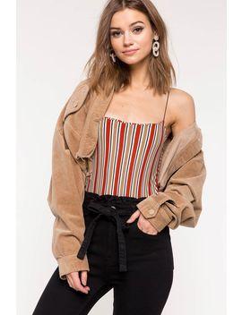 Earn Your Stripes Bodysuit by A'gaci
