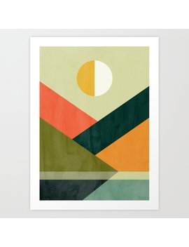 Hidden Shore Art Print by