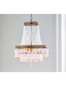 Vintage Glass Chandelier by Pottery Barn Kids