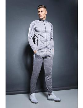 Active Track Top Skinny Fit Tracksuit by Boohoo Man