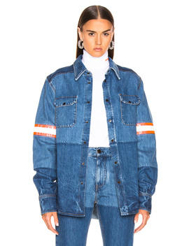 Denim Jacket by Calvin Klein 205 W39 Nyc