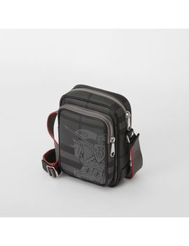 Small Ekd London Check Crossbody Bag by Burberry