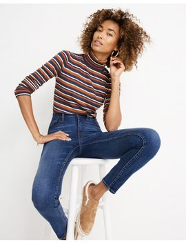 "Petite 10"" High Rise Skinny Jeans In Tarren Wash: Thermolite® Edition by Madewell"