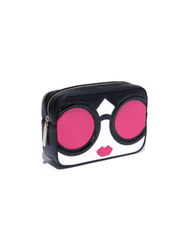 Ava Staceface Travel Case by Alice And Olivia