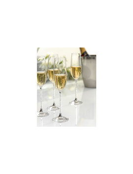 Crystalline Toasting Flutes (Set Of 2) by Swarovski