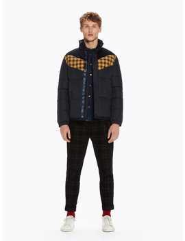 Contrast Puffer Jacket by Scotch&Soda
