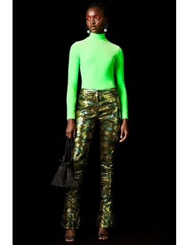 **Camouflage Sequin Trousers By Topshop X Halpern by Topshop