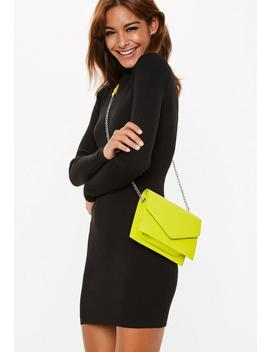 Lime Chain Cross Body Bag by Missguided