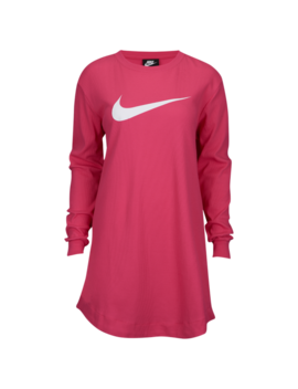 Nike Ribbed Swoosh Dress by Lady Foot Locker