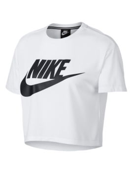 Nike Essential Crop T Shirt by Lady Foot Locker