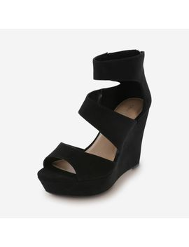 Women's Shay Platform Wedge by Learn About The Brand Christian Siriano For Payless