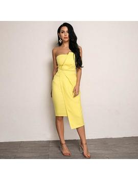 Clover Dress   Yellow by Want My Look
