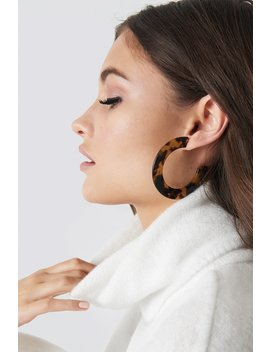Round Resin Earrings by Julia Wieniawa X Na Kd