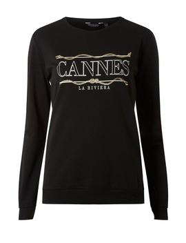 Black Long Sleeve Sweatshirt by Dorothy Perkins