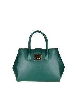 """Furla """"Metropolis M"""" In Green Leather by Furla"""