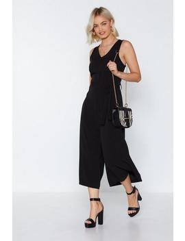 Play It Cool Culotte Jumpsuit by Nasty Gal