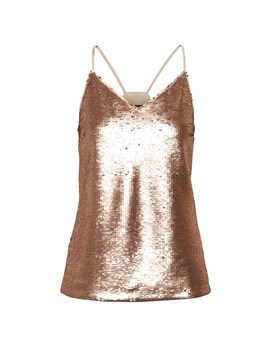 Sequin Strappy Camisole by Banana Repbulic