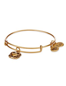 Crab Charm Bangle Bracelet by Alex And Ani