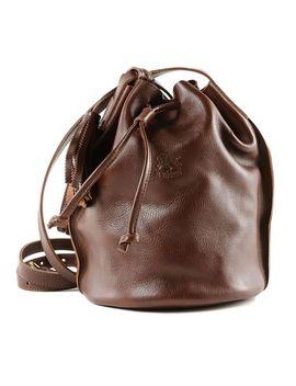 Il Bisonte Tassel Charm Shoulder Bag by Il Bisonte