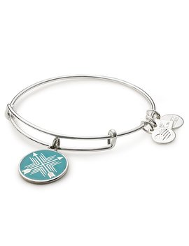 Arrows Of Friendship Charm Bangle Bracelet by Alex And Ani