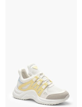 Retro Sports Trainers by Boohoo
